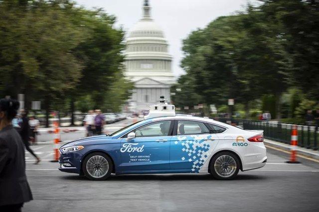 آزمایش خودروهای خودران فورد در واشنگتن کلید می خورد