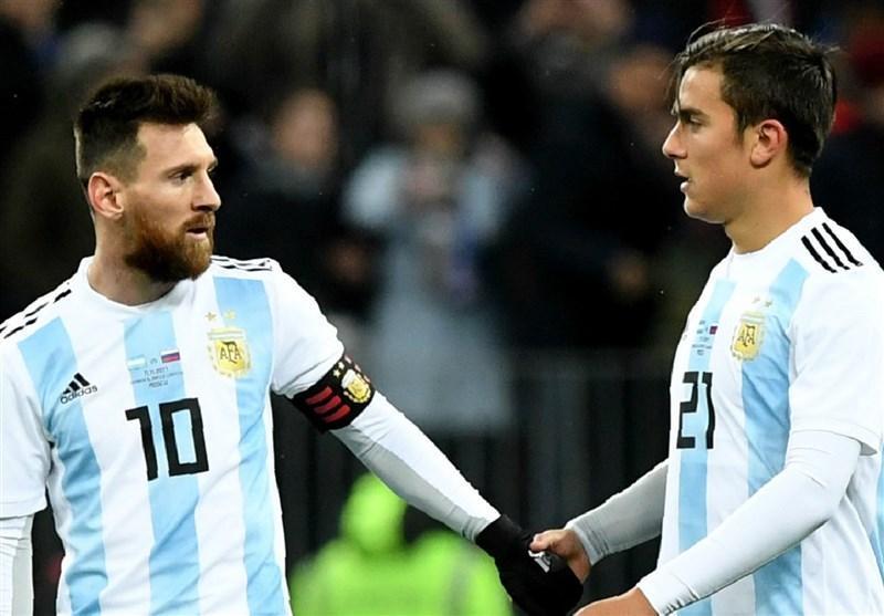 فوتبال دنیا، دیبالا: مسی باید به تیم ملی آرژانتین برگردد