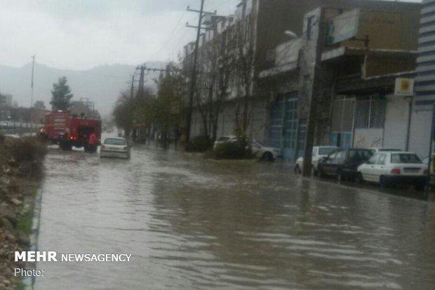 سوالی که در سیلاب گم شد؛ طرح جامع دفع آب های سطحی خرم آباد چه شد