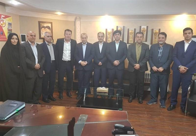 ویلموتس، میهمان ویژه جلسه هیئت رئیسه فدراسیون فوتبال