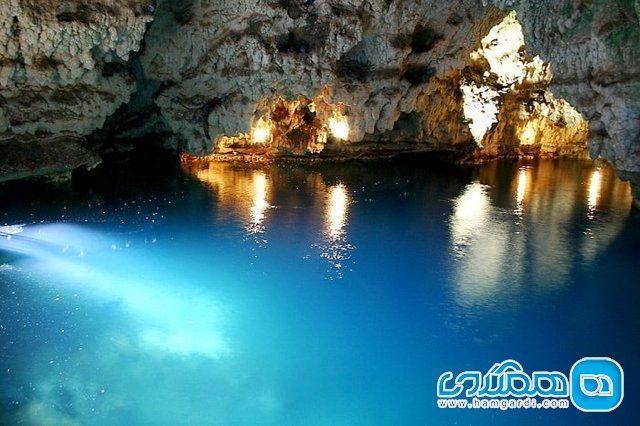 گردش خنک تابستانی در غار آبی سهولان