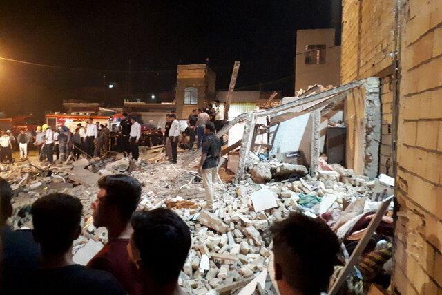 انفجار ساختمانی در ورامین جان یک کودک را گرفت