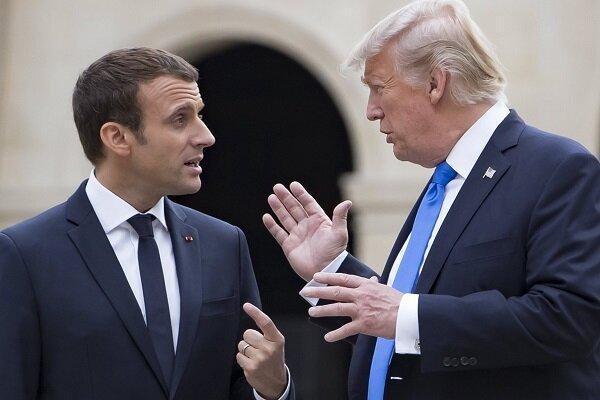 ترامپ رئیس جمهور فرانسه را احمق توصیف کرد