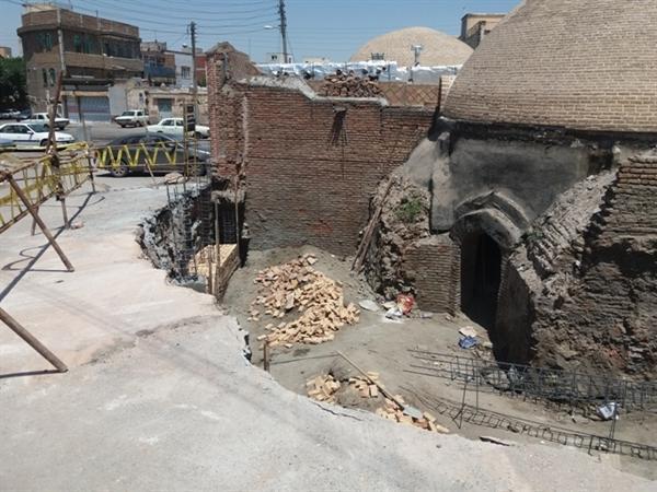 مرمت 3 حمام تاریخی اردبیل توسط کارشناسان بومی انجام شد