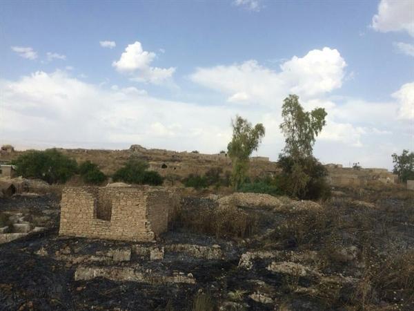 آتش سوزی خسارتی به بافت تاریخی دهدشت وارد نکرده است