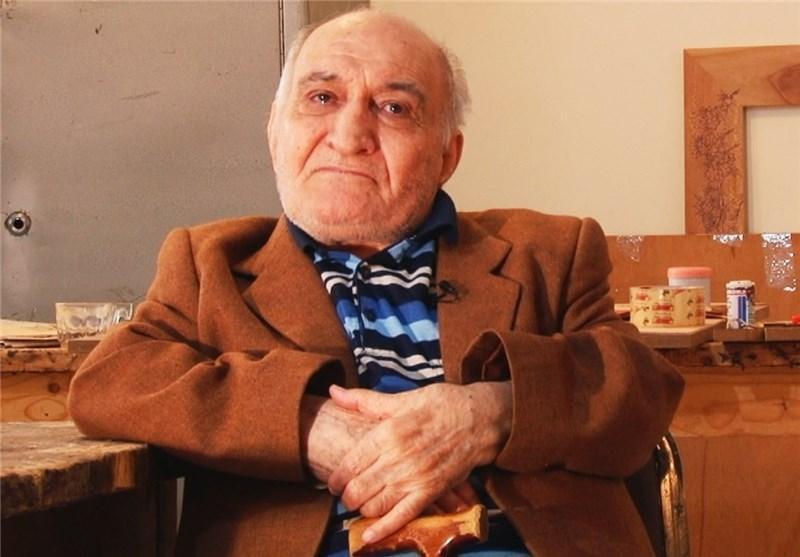 استاد ایرانی که آثارش در کاخ سفید است، یک آرزو دارد