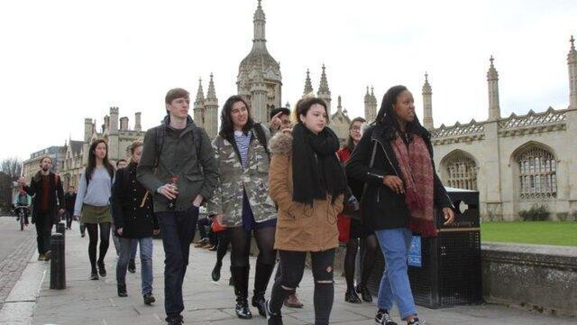 افزایش پذیرش دانش آموزان مدارس دولتی در دانشگاه کمبریج