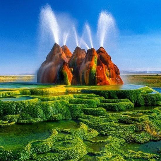 مناظری طبیعی که انگار متعلق به سیاره ای دیگرند!