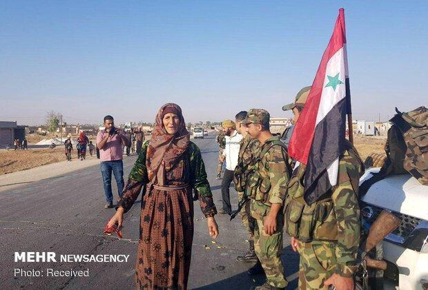 تسلط ارتش سوریه بر 1030 کیلومتر مربع در شمال این کشور