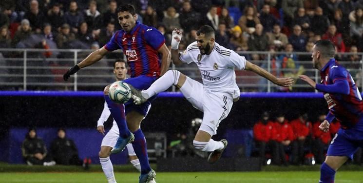 انتقال درخشش رئال مادرید در اروپا به لیگ با دبل بنزما