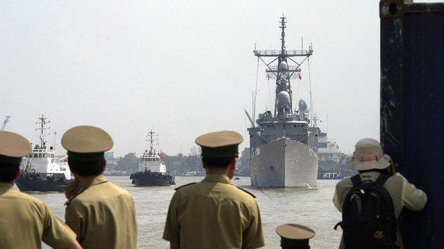 نارضایتی چین از ورود ناو هواپیمابر آمریکا به آب های ویتنام