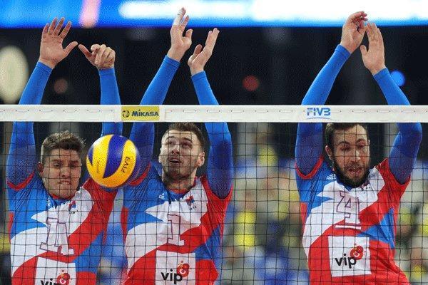 مدافع قهرمانی لیگ جهانی حذف شد، روسیه به نیمه نهایی نرسید