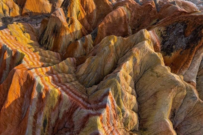 تور مجازی: کوه های رنگارنگ ژئوپارک ژانگی دانکسیا؛ چین