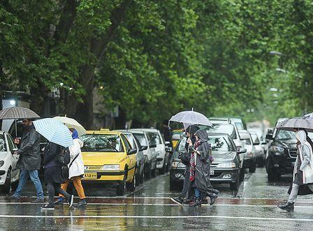 تشدید بارش ها در غرب و جنوب غرب ، پیش بینی بارش 60 میلیمتری