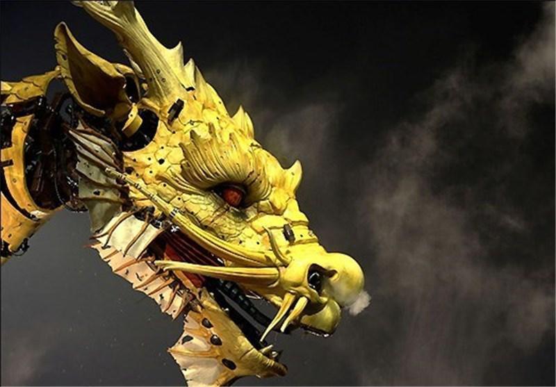 تصاویر اژدهای فرانسوی در پکن