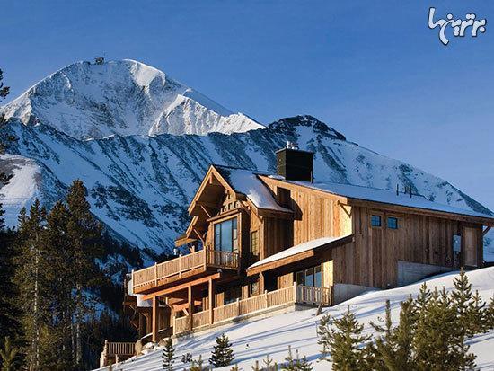 مناطق کوهستانی که پاتوق افراد مشهور دنیاست