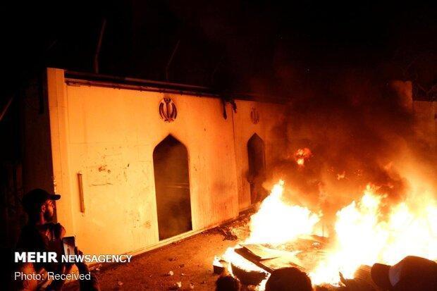واکنش لندن به حمله به کنسولگری ایران در نجف و کربلا