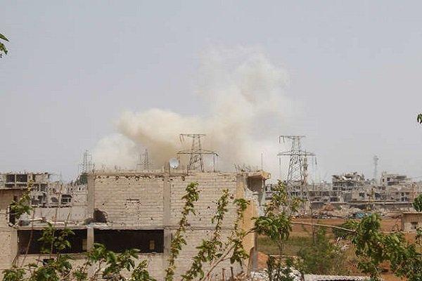 وقوع انفجار شدید در شهر قامشلی سوریه