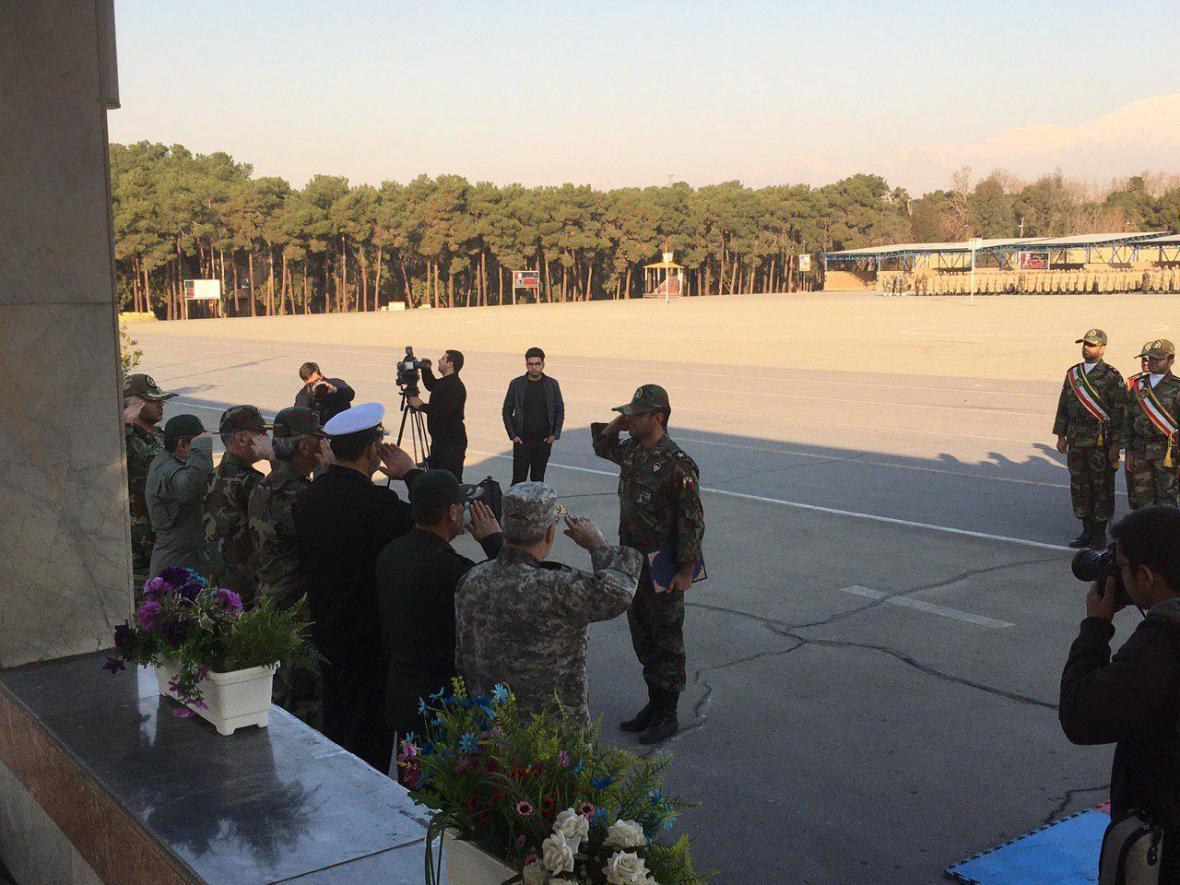 مراسم دانش آموختگی سربازان وظیفه نیروی زمینی ارتش