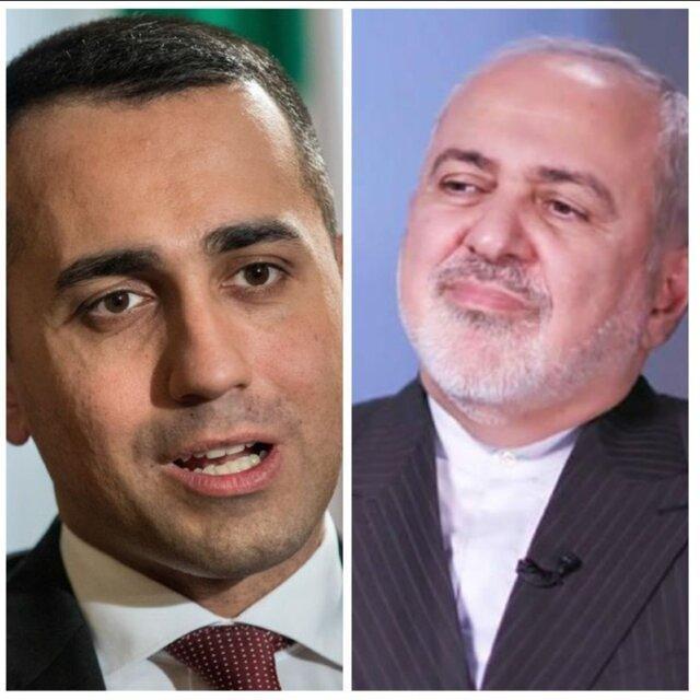 رایزنی تلفنی وزیران خارجه ایران و ایتالیا