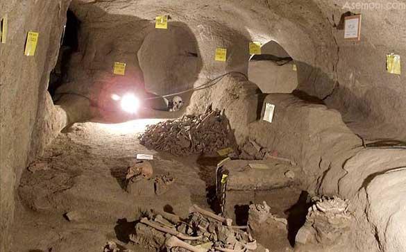 کشف گورستانهای طبقاتی عصر آهن در مشکین شهر