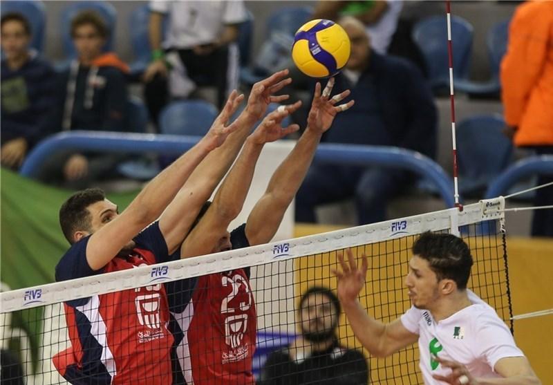 والیبال انتخابی المپیک، مصر و تونس بدون مسابقه پیروز شدند