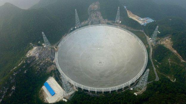 چشم آسمان؛ بزرگ ترین تلسکوپ رادیویی جهان