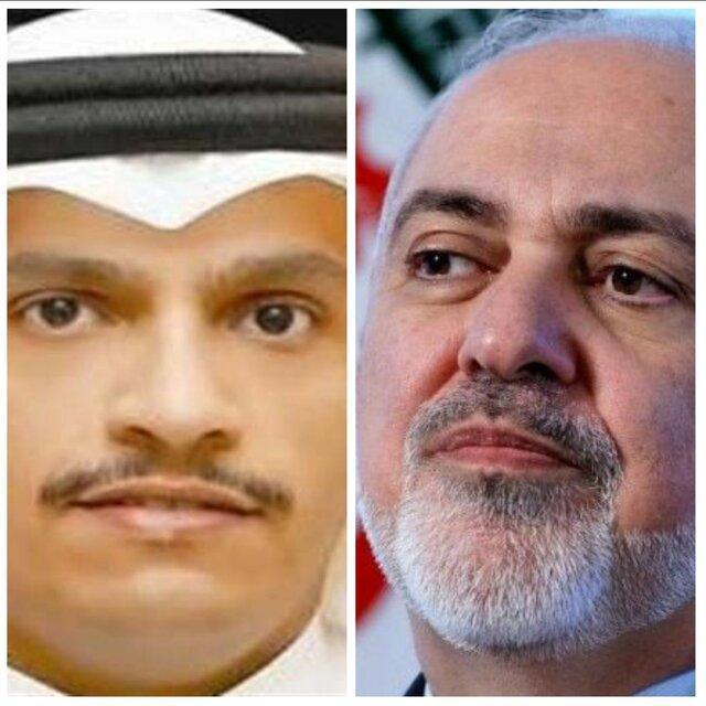 افغانستان محور گفت وگوی ظریف با وزیر خارجه قطر