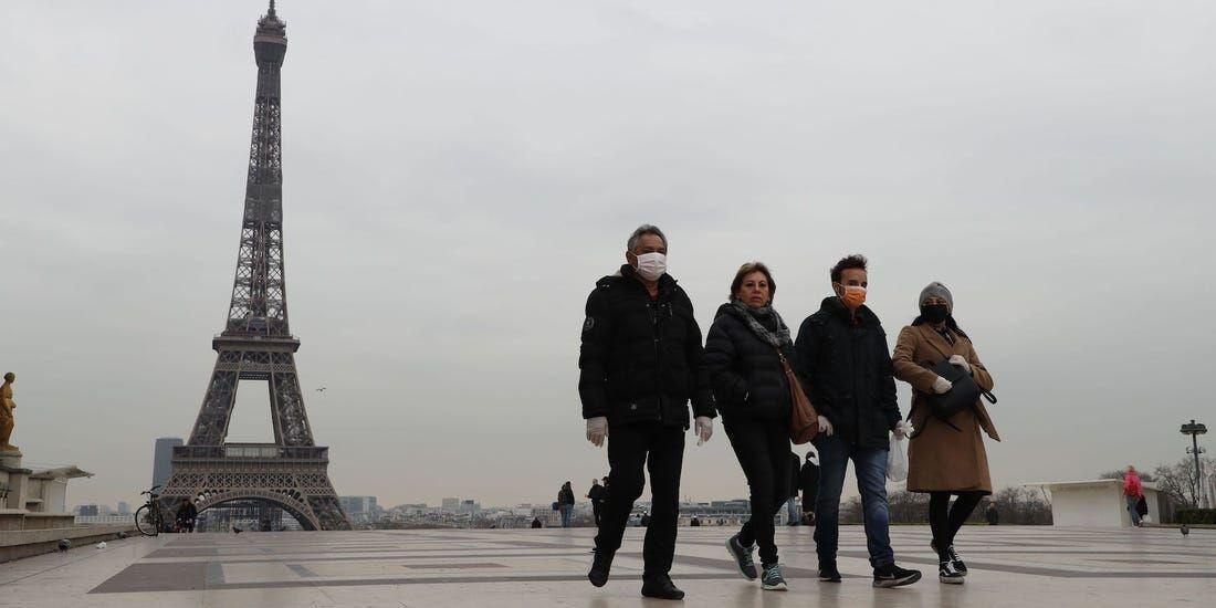 خبرنگاران افزایش 41 درصدی شمار جان باختگان کرونا در فرانسه