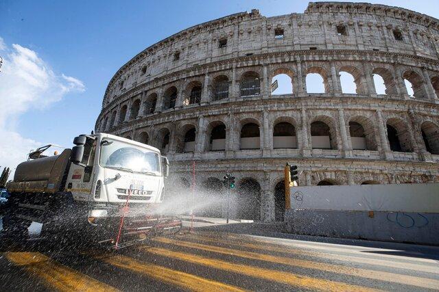 تلفات کووید-19 در ایتالیا به 10 هزار و 23 نفر رسید