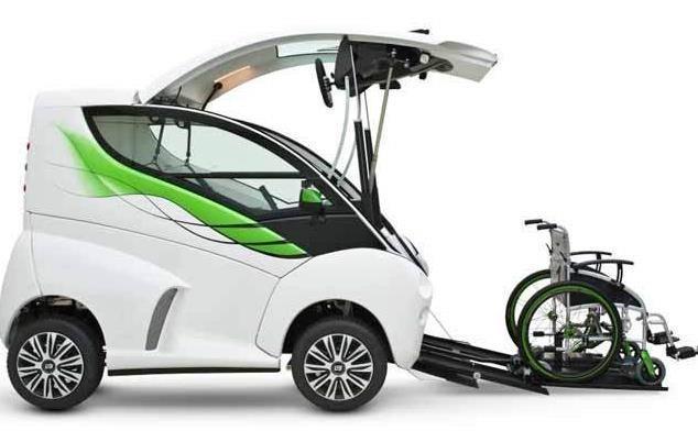 ساخت خودرویی مخصوص افراد معلول