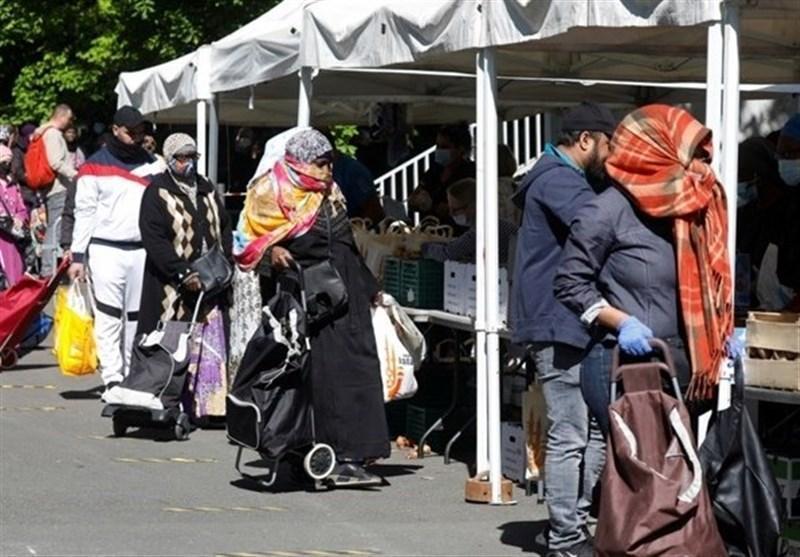 کمبود غذا در مناطق فقیرنشین فرانسه