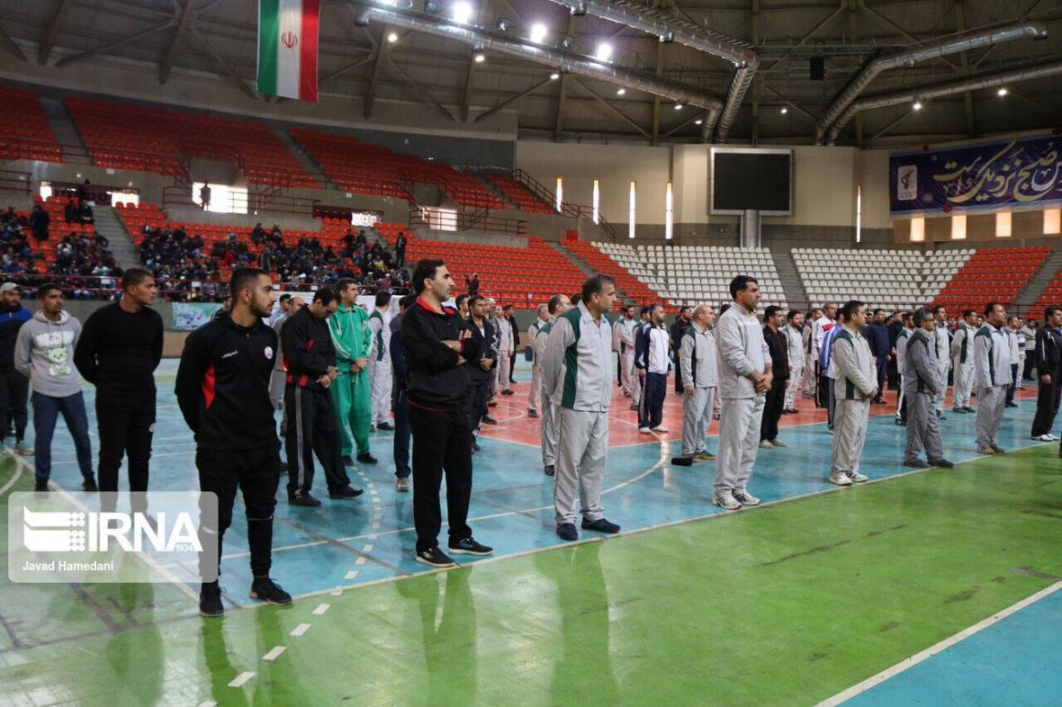 خبرنگاران کسب مقام برتر ورزش کارگری خوزستان در کشور