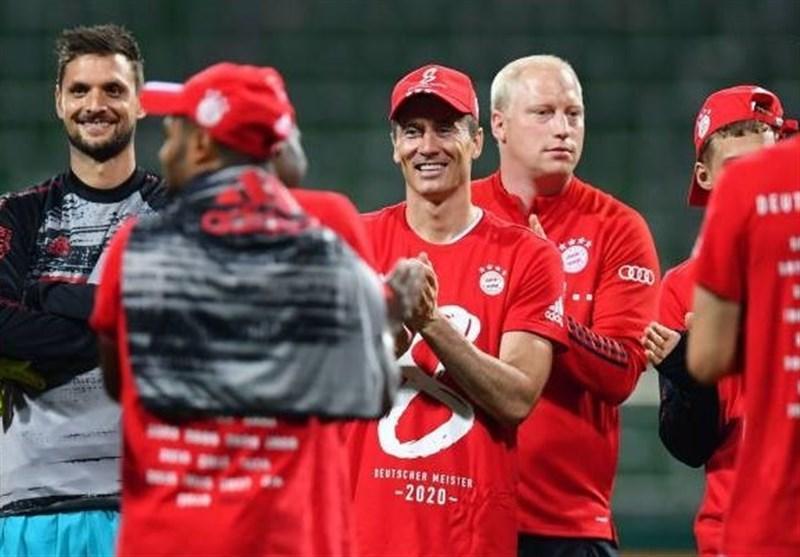 لواندوفسکی: نشان دادیم بهترین تیم آلمان هستیم، امیدوارم جشن قهرمانی را با طرفداران برگزار کنیم