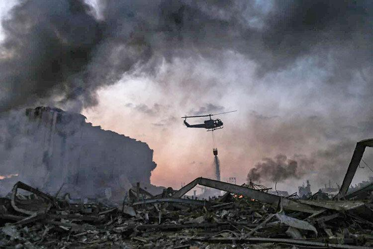 افزایش ابهام ها درباره علت انفجار بیروت با انتشار یک بیانیه ، ماجرای شکاف انبار شماره 12 ، تحقیقات امنیتی چه می گوید؟