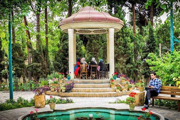 باغ نگارستان تهران، قلب هنر ایرانی