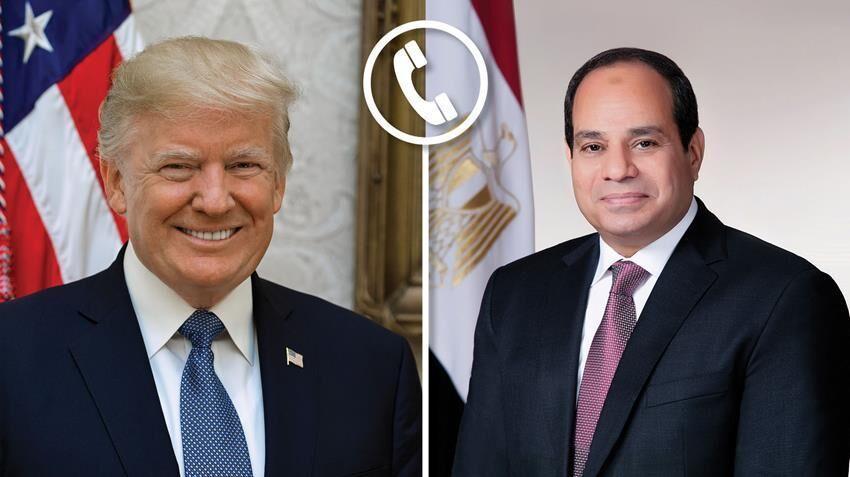خبرنگاران ترامپ و السیسی تحولات منطقه را آنالیز کردند