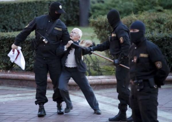 درخواست رهبر اپوزیسیون بلاروس از سازمان ملل برای متوقف ساختن سرکوب رسانه در کشورش
