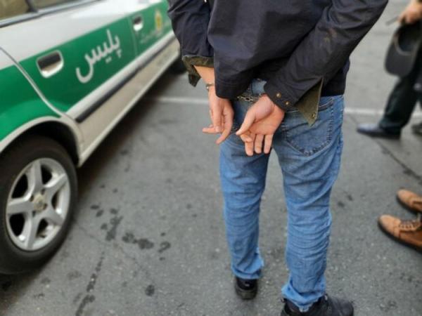(ویدئو) دستگیری دزدان ناکام طلافروشی