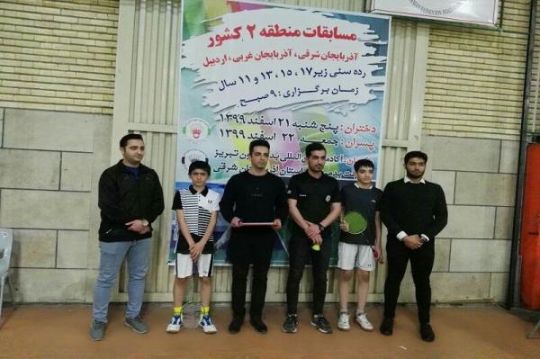 خبرنگاران ورزشکار بوکانی به مسابقات بدمینتون قهرمانی کشور راه یافت