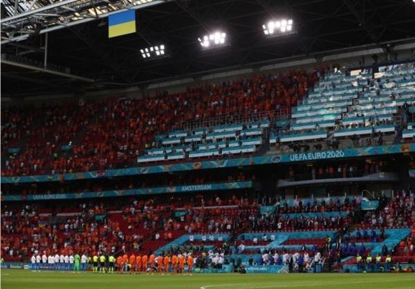 یورو 2020، 90 دقیقه پرهیجان در استادیوم یوهان کرایف در قاب تصاویر