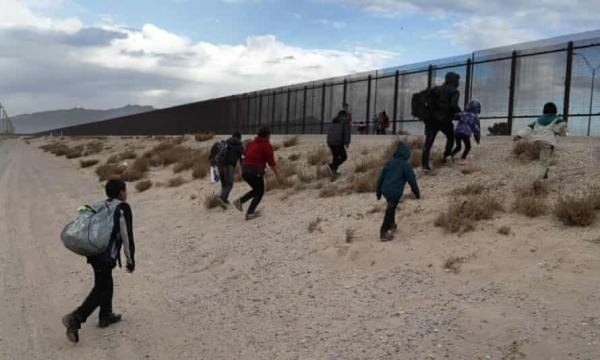 بازداشت یک میلیون مهاجر در مرز آمریکا با مکزیک