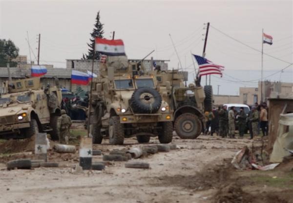 مقابله اهالی قامشلی با نظامیان آمریکایی