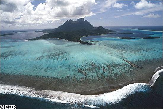 جزایری که شبیه تابلوی نقاشی هستند